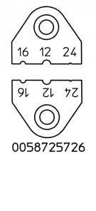 Messerset AWG 12, 16, 24