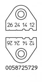 Messerset AWG 12, 14, 24, 26
